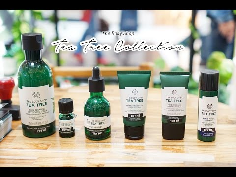 Review The Body Shop Tea Tree New Collection