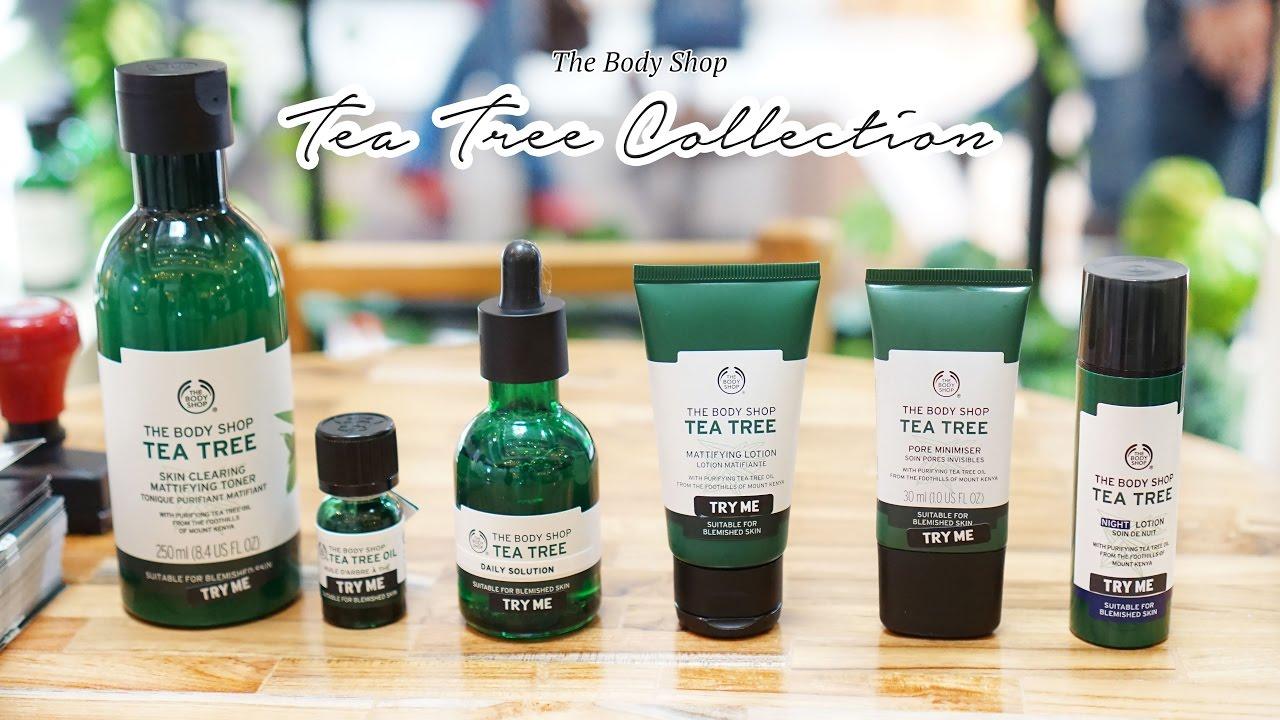 Cara Menghilangkan Jerawat Dengan Tea Tree Oil The Body Shop