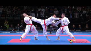 The thrilling 2016 Karate World Championships will start on Tuesday in Linz (Austria)
