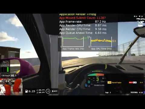 iRacing Oculus Debug - Charlotte Roval - RTX 2070 AORUS Extreme