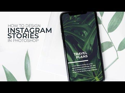 How To Design Instagram Stories In Photoshop
