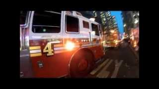 Run with the FDNY *HD* - Engine 54, Ladder 4, Battalion 9