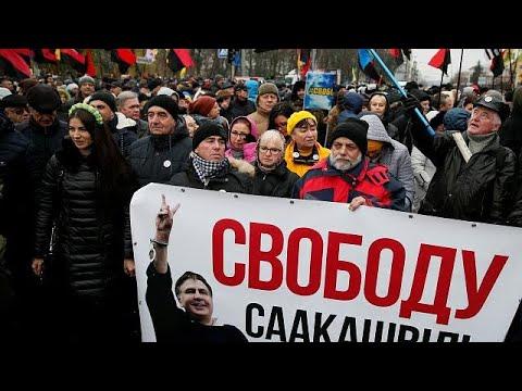 أوكرانيا: آلاف المؤيدين لساكاشفيلي يطالبون بإطلاق سراحه  - نشر قبل 4 ساعة