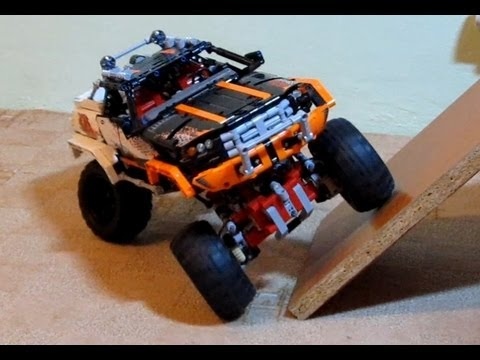 how to build a lego 4x4 truck
