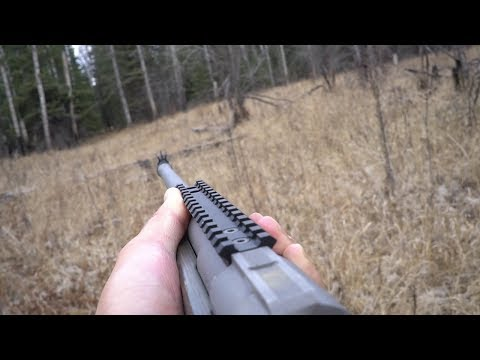 Whitetail Deer Hunting With Ruger Gunsite Scout In 308 Caliber