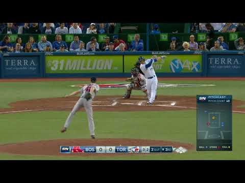 Chris Sale's 11Ks @ Toronto Blue Jays - August 29, 2017