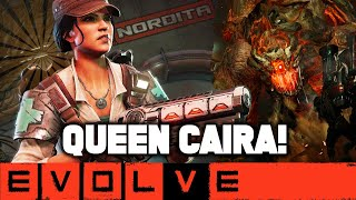 Baixar QUEEN CAIRA!! Evolve Gameplay Stage Two (NEW EVOLVE 2020 Hunter Gameplay)