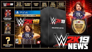 Baixar WWE 2K19 News: CONFIRMED COLLECTORS EDITION, DELUXE & STANDARD EDITION DETAILS! (#WWE2K19 News)