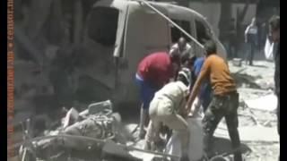 Чьи-то ВКС боимбят Идлиб и Алеппо (июнь 2016)