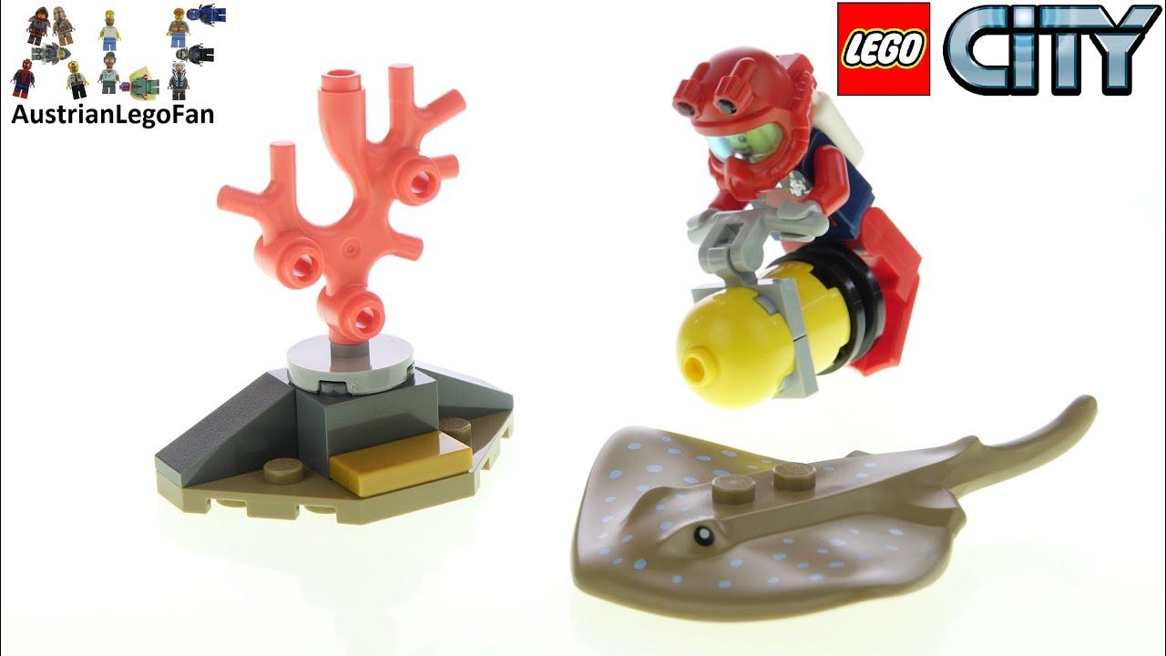 LEGO 30370-Diver con Stingray-Polybag-NUOVO e SIGILLATO 2020