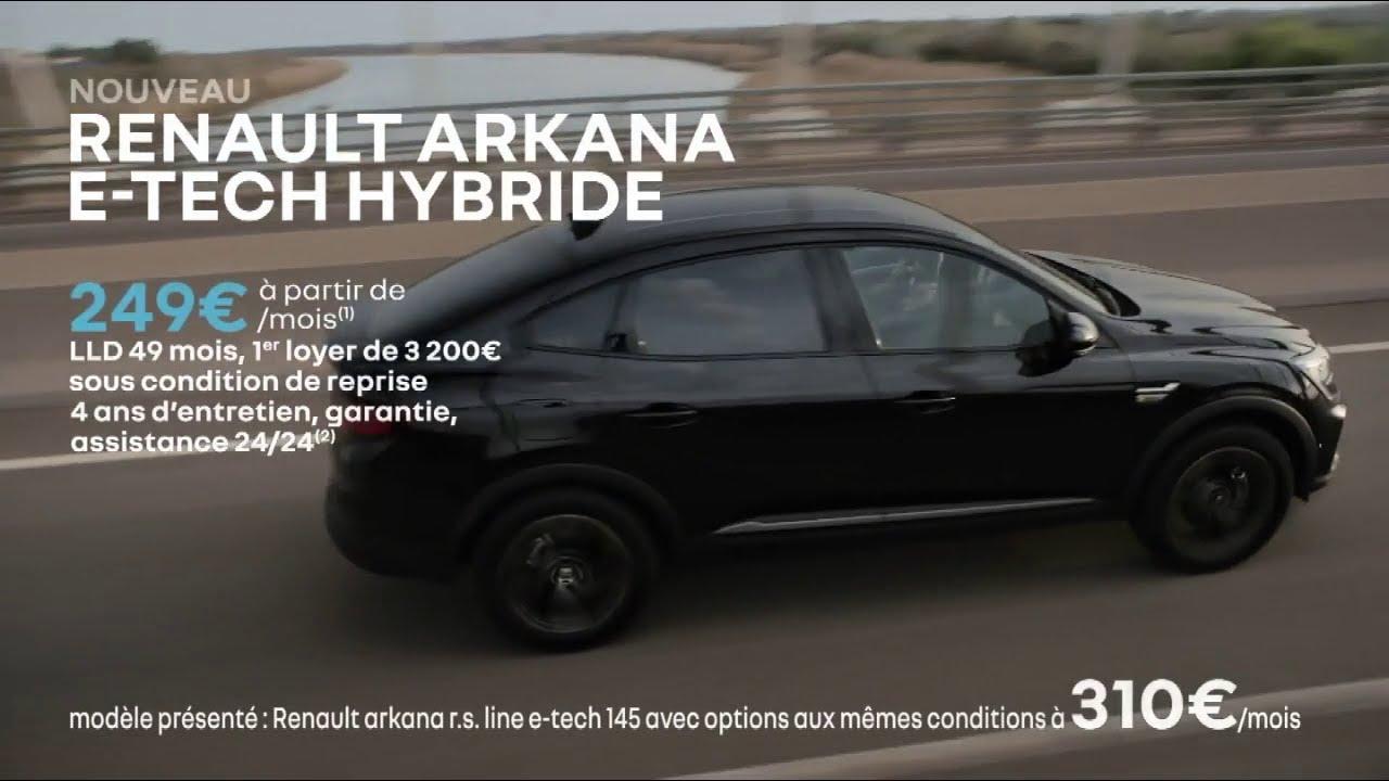 """Musique pub Nouveau Renault Arkana E-tech hybride """"renouveau Renault""""  juillet 2021"""