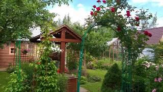 Наши 6 соток-мало земли/ Как разместить огород, сад , цветы...