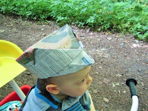 Hat from the newspaper/Hut aus der Zeitung