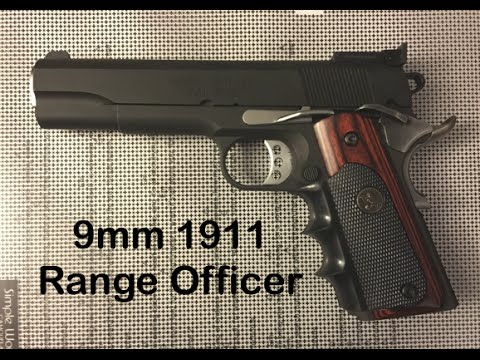 Springfield 1911 9mm Range Officer Review