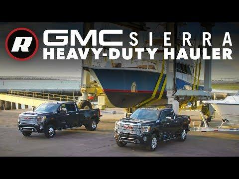 """2020 GMC Sierra HD: Heavy-duty hauler debuts """"Transparent Trailer"""" tech"""