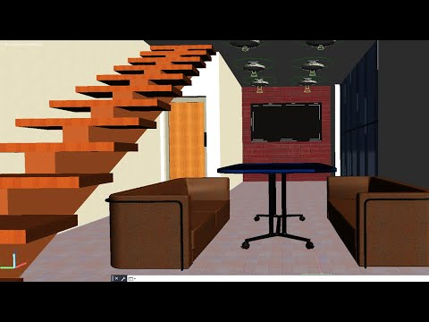 3D house in AutoCAD from scratch - Part 1 of 3