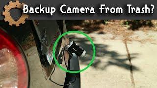 Backup Camera From Trash? - Weekend Hacker