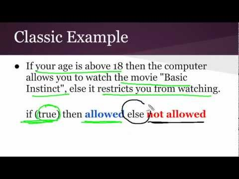 Java Programming Lecture 7: Control Flow Statements in Java
