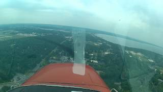 Landing Traverse City, Mi - 12jul14