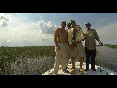 Extreme Bass Fishing on Lake Okeechobee Florida