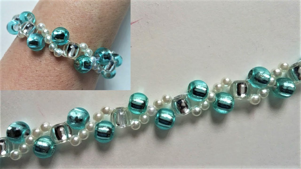 beading tutorials for beginners how to make a bracelet