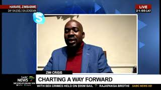 Nelson Chamisa speaks out on the situation in Zimbabwe - Part 2