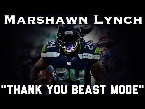 "Marshawn Lynch Retirement Tribute   ""Thank You Beast Mode""   Career Highlights (HD)"