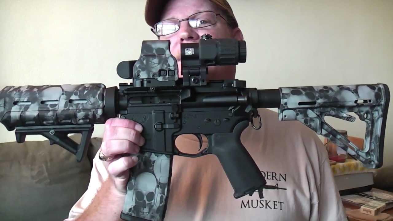 Eotech G33 Left Handed Mount Amp Geissele S3g Trigger