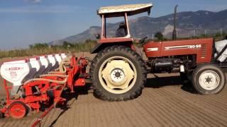 Aydın/SÖKE Şakalak 6lı  dısklı mıbzer pamuk ekimi