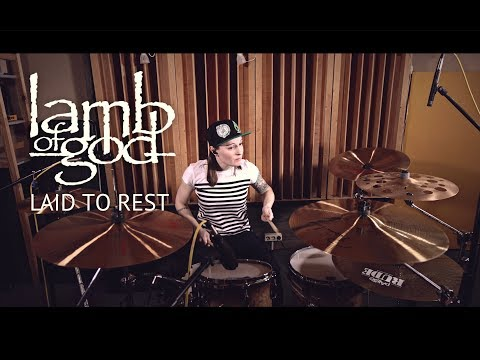 Lamb Of God - Laid To Rest (drum Cover By Vicky Fates)