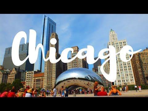 CHICAGO ♥ CLOUD GATE, WILLIS TOWER SKYDECK, LAKE MICHIGAN & MORE   Travel   USA