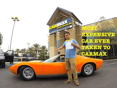 I TOOK THE $3,000,000 LAMBO TO CARMAX! They offered me......