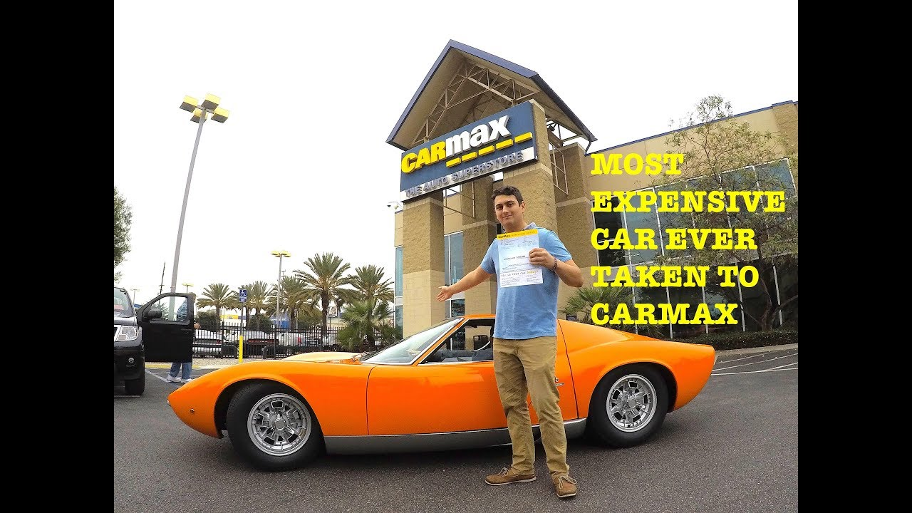 I Took The 3 000 000 Lambo To Carmax They Offered Me Youtube
