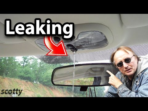 How to Fix a Water Leak in Your Car