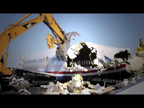 Air Hollywood / Arc - Airplane Demolition