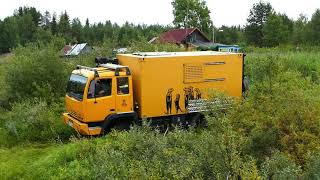 Steyr 12M18 Offroad, Expeditions LKW, LKW 4x4, Russia 2018