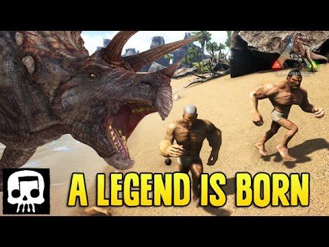 THE BEGINNING - Ark Survival Evolved Gameplay Pt. 1