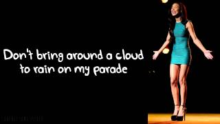 Baixar Glee - Don't Rain On My Parade (Lyrics)