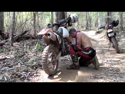Cambodia Motorcycle Adventure Episode #3 - Never Stop Riding