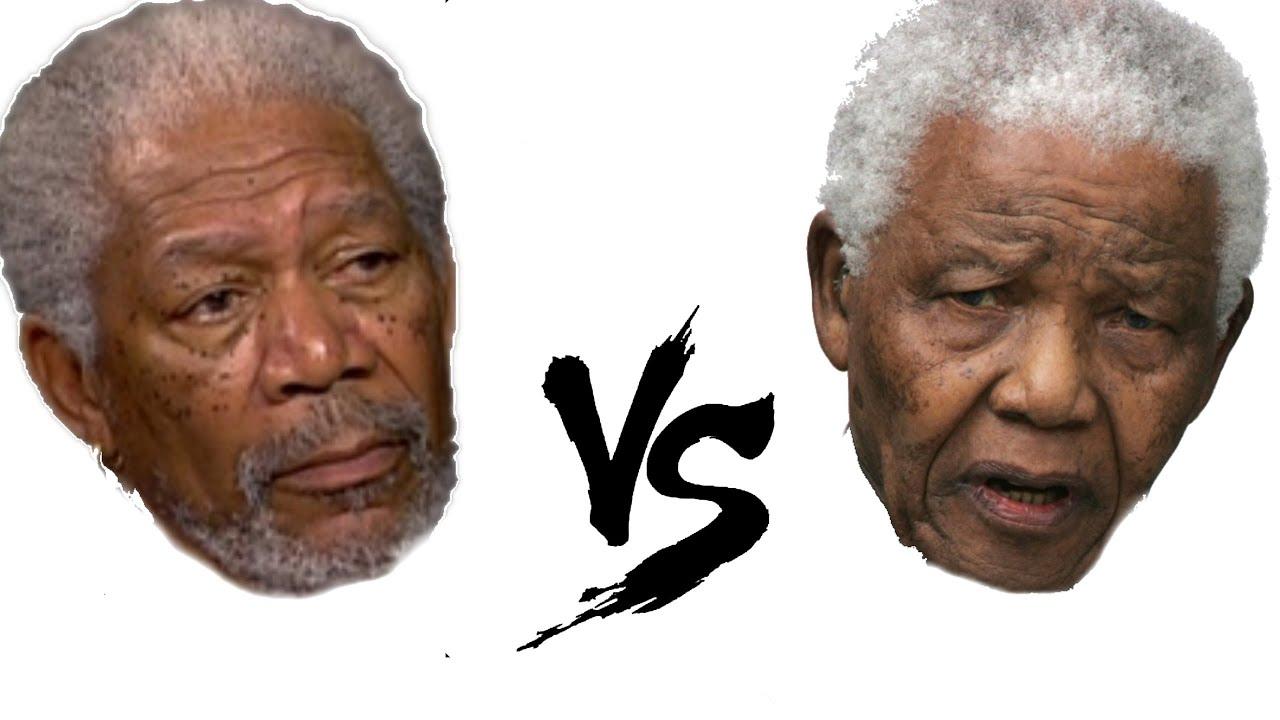Is it Morgan Freeman or Nelson Mandela - YouTube