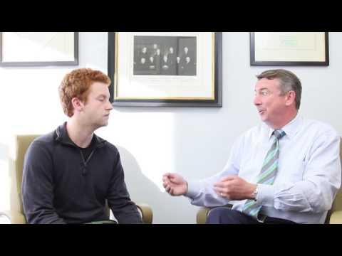 Former RNC Chairman Ed Gillespie talks with UChicago Fourth Year College Student William W