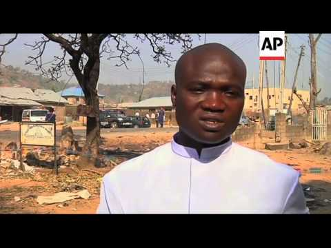 A'math of Catholic church attack that killed 35, witnesses reax