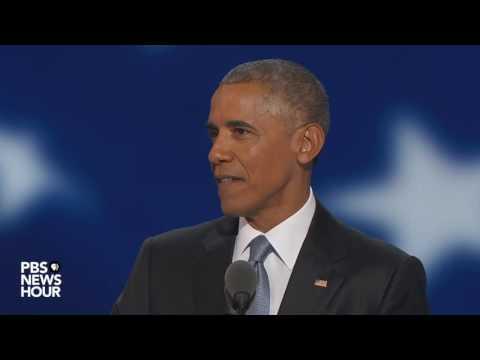 President Obama: Democracy works, but we gotta want it