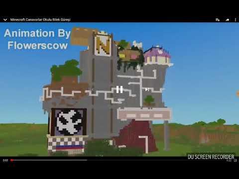 Minecraft Canavarlar Okulu Bilek Güreşi