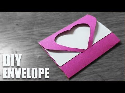 DIY Envelope Card - Envelope Making Tutorial