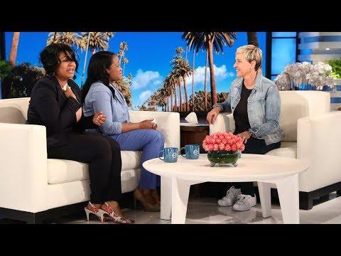 Ellen Surprises Deserving Graduate Sisters