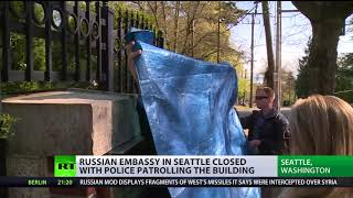 US authorities break into closed Russian consulate residence in Seattle