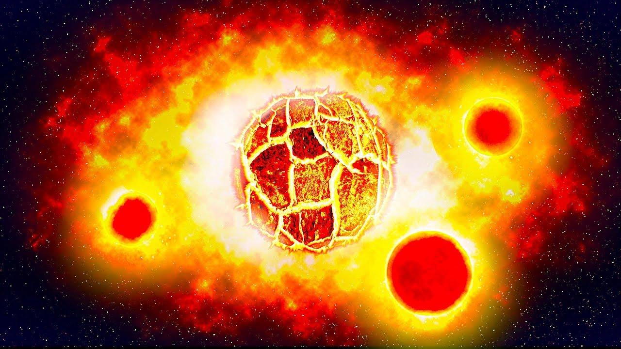 يملك كوكب قد اكتشف حديثا ثلاث شموس