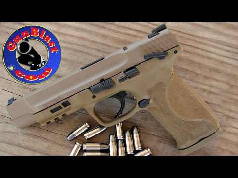 Shooting Smith & Wesson's NEW M&P M2.0 9mm Pistols - Gunblast.com