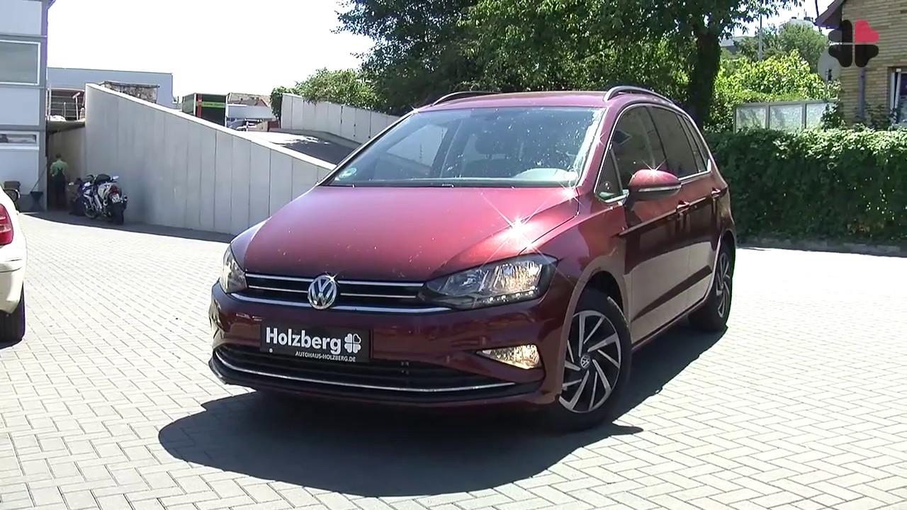 volkswagen golf sportsvan join 1 0 l tsi 110 ps 7 gang dsg youtube. Black Bedroom Furniture Sets. Home Design Ideas